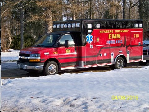 EMS new ambulance